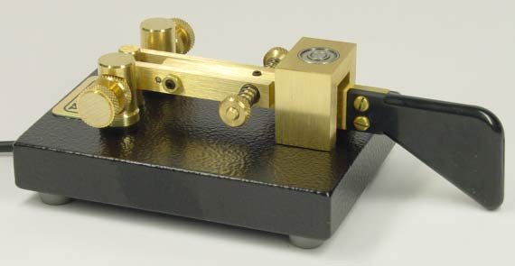 The Kent Single Paddle Morse Key